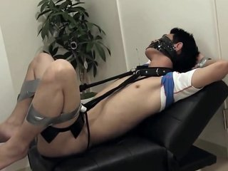 Horny gay video with BDSM, Asian scenes