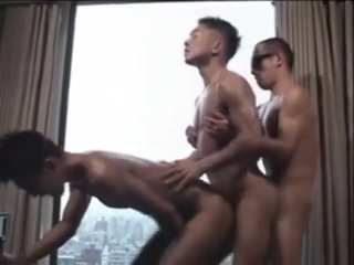 Asian Bareback 3way