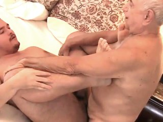 Daddy and son lovemaking session