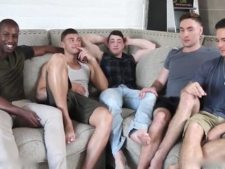 Hot Gay Orgy Collin Simpson With Tyler Alex Forrest And Za