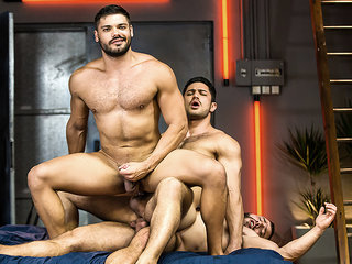 Dato Foland & Diego Reyes & Nicolas Brooks in The Boy Is Mine Part 3 - DrillMyHole