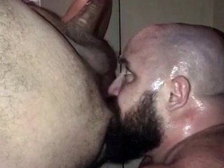 Gay Bear John Gets A Full Rimjob - SeeMyBF