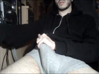 Jerking Hot Big Cock On Cam