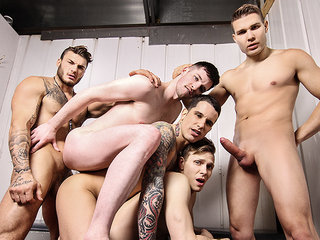 Ethan Chase & Jordan Fox & Pierre Fitch & Thyle Knoxx & William Seed in Snap! Part 2 - MenNetwork