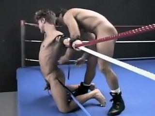 Retro Hog Tied Wrestling